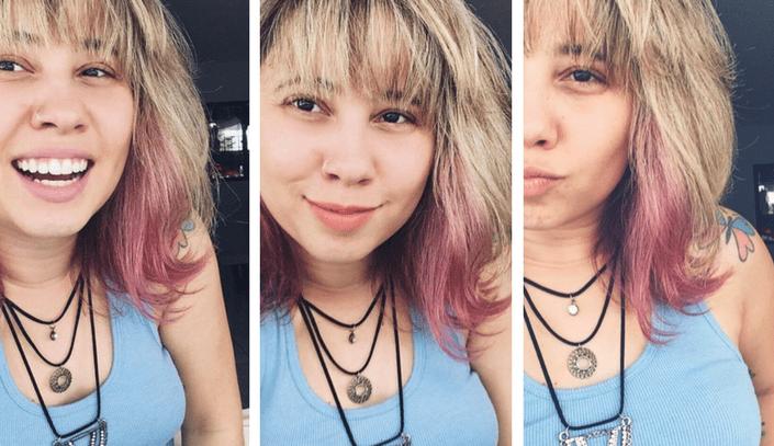 Pintei meu cabelo de rosa – AlfaparfRevolution
